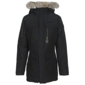 Sorel Womens Caribou Parka, Black, medium