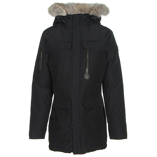 Sorel Womens Caribou Parka, Black, 600