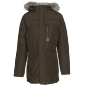 Sorel Womens Caribou Parka, Olive Green, medium