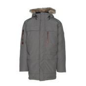 Sorel Mens Caribou Parka, Quarry, medium