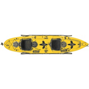 Hobie Mirage Outfitter Kayak 2017, Papaya, medium
