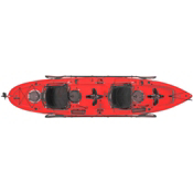 Hobie Mirage Outfitter Kayak 2017, Hibiscus, medium