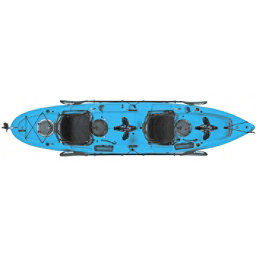 Hobie Mirage Outfitter Kayak 2017, Caribbean Blue, 256