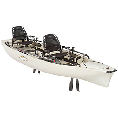 Hobie Mirage Pro Angler 17 Kayak 2017, Ivory Dune, viewer