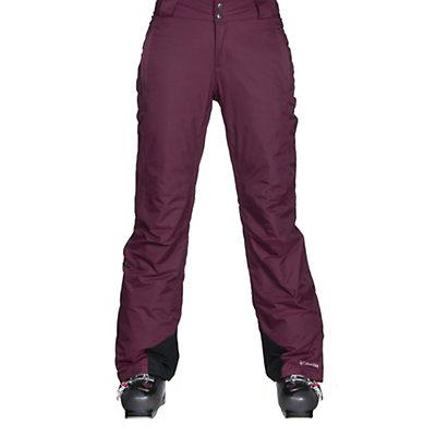 Columbia Bugaboo Omni-Heat Short Womens Ski Pants, Purple Dahlia, viewer
