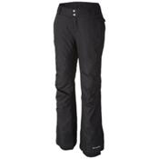 Columbia Bugaboo Omni-Heat Short Womens Ski Pants, Black, medium