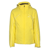 KJUS Formula Girls Ski Jacket, Buttercup-White, medium