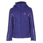 KJUS Formula Girls Ski Jacket, Spectrum Blue-White, medium