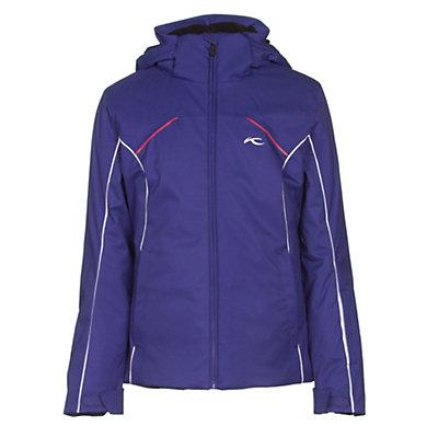 KJUS Formula Girls Ski Jacket, Spectrum Blue-White, viewer