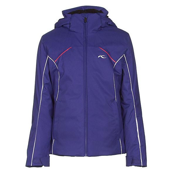 KJUS Formula Girls Ski Jacket, Spectrum Blue-White, 600