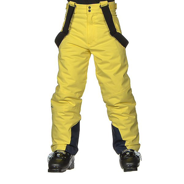 KJUS Vector Boys Ski Pants, Buttercup, 600