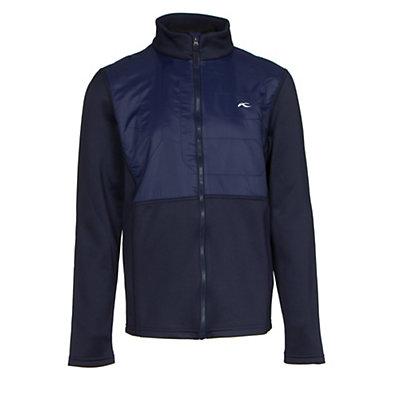 KJUS Charger Jacket Boys Midlayer, Atlanta Blue, viewer