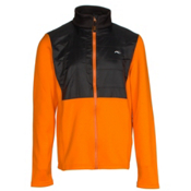 KJUS Charger Jacket Boys Midlayer, Kjus Orange-Black, medium