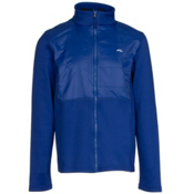 KJUS Charger Jacket Boys Midlayer, Alaska Blue, medium