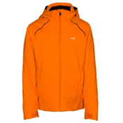 KJUS Formula Boys Ski Jacket, Kjus Orange-Black, medium