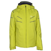 KJUS Formula DLX Boys Ski Jacket, Citronelle-Atlanta Blue, medium