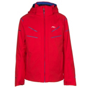 KJUS Formula DLX Boys Ski Jacket, Scarlet-Alaska, medium