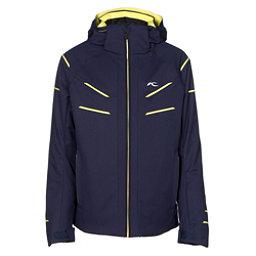 KJUS Formula DLX Boys Ski Jacket, Atlanta Blue-Buttercup, 256