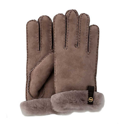 UGG Tenney Womens Gloves, Stormy Grey, viewer