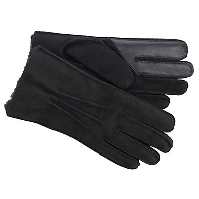 UGG Sheepskin Touch Mens Gloves, Black, viewer