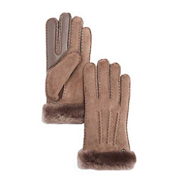 UGG Carter Touch Womens Gloves, Stormy Grey, 256