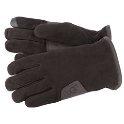 UGG Suede Touch Mens Gloves, Brown, 256