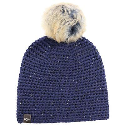 UGG Crochet Beanie, Indigo, viewer