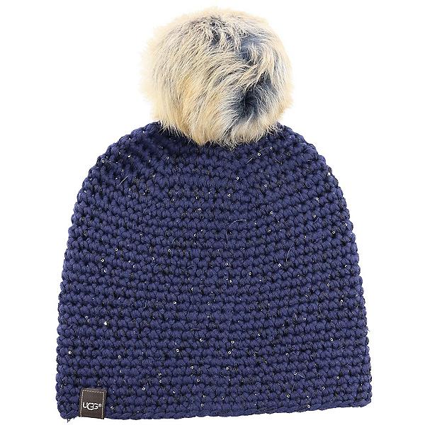 UGG Crochet Beanie, Indigo, 600