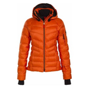 Bogner Fire + Ice Malina Down Womens Insulated Ski Jacket, Flame, medium