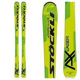 Stockli Laser AX Skis 2017, Yellow-Green, 256