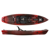 Perception Pescador Pro 10.0 Fishing Kayak 2017, Red Tiger Camo, medium