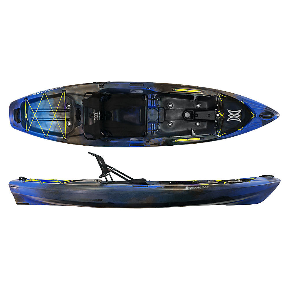 Perception pescador pro 10 0 fishing kayak 2017 ebay for New fishing kayaks 2017