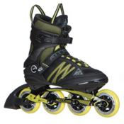 K2 F.I.T. Pro 84 Inline Skates 2017, Black-Yellow, medium