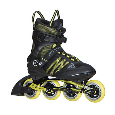 K2 F.I.T. Pro 84 Inline Skates 2017, Black-Yellow, viewer