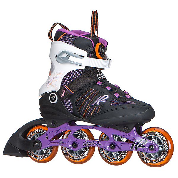 K2 Alexis Boa Womens Inline Skates 2017, Purple-Orange, 600