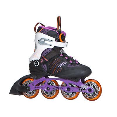 K2 Alexis Boa Womens Inline Skates 2017, Purple-Orange, viewer