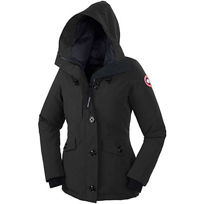 Canada Goose Rideau Parka, Black, viewer