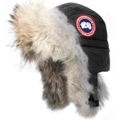 Canada Goose Aviator Womens Hat, Black, medium