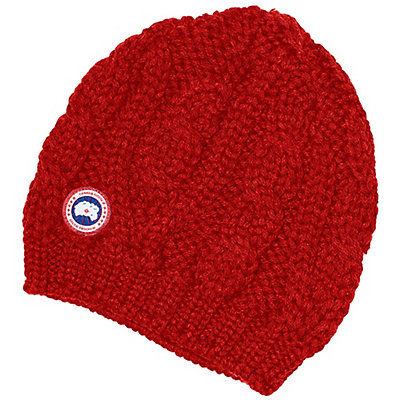 Canada Goose Chunky Cable Knit Beanie, , viewer