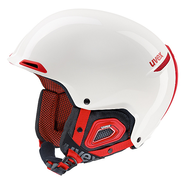 Uvex Jakk + Helmet, White-Red, 600