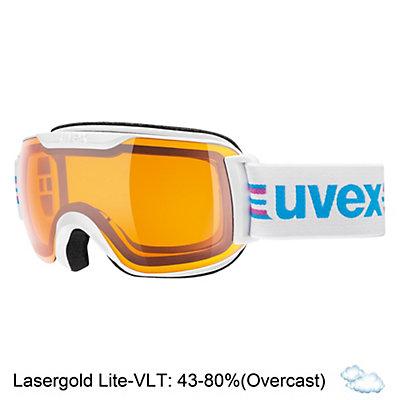 Uvex Downhill 2000 S Race Goggles 2017, Orange-Green-Lasergold Lite, viewer