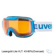 Uvex Downhill 2000 S Race Goggles 2017, Cyan-Pink-Lasergold Lite, medium
