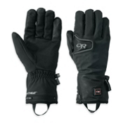 Outdoor Research StormTracker Heated Heated Gloves and Mittens, Black, medium