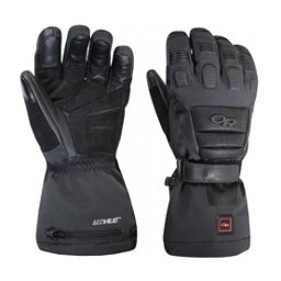 Outdoor Research Capstone Heated Gloves and Mittens, Black, 256