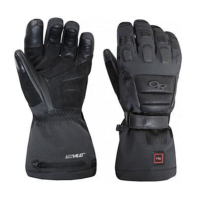 Outdoor Research Capstone Heated Ski Gloves, Black, viewer