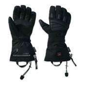Outdoor Research Lucent Heated Heated Gloves and Mittens, Black, medium