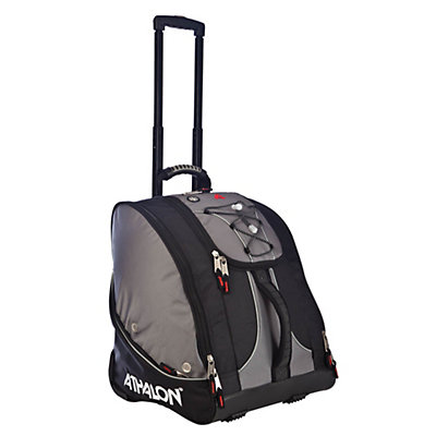 Athalon Everything Wheeled Ski Boot Bag 2017, Silver-Black, viewer