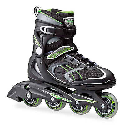 Bladerunner Advantage Pro XT Inline Skates 2017, Black-Green, viewer