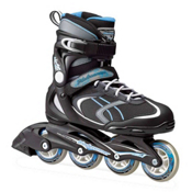 Bladerunner Advantage Pro XT Womens Inline Skates 2017, Black-Light Blue, medium