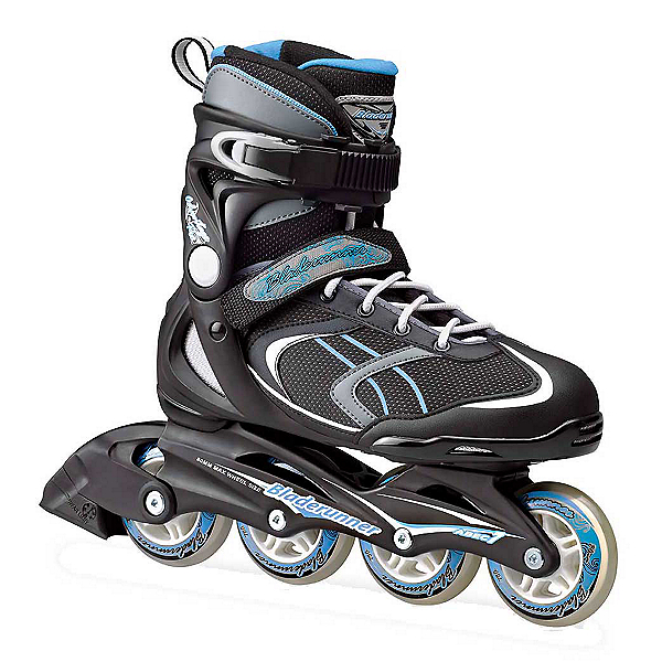 Bladerunner Advantage Pro XT Womens Inline Skates 2017, Black-Light Blue, 600